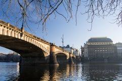 De straten van Praag Royalty-vrije Stock Afbeeldingen