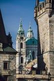 De straten van Praag Royalty-vrije Stock Fotografie