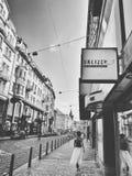 De straten van Praag royalty-vrije stock afbeelding
