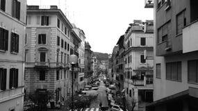 De straten van Rome Stock Afbeelding