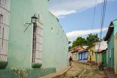 De straten van Trinidad Royalty-vrije Stock Foto