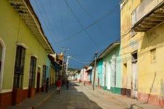 De straten van Trinidad Royalty-vrije Stock Afbeelding
