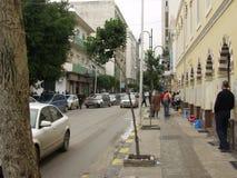De straten van Tripoli Stock Afbeeldingen