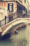 De Straten van Venetië Stock Fotografie