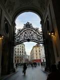 De Straten van Wenen Stock Foto