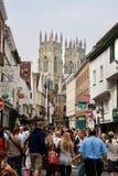 De straten van York stock afbeelding