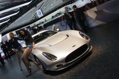 De Streek van Perana van Zagato - de Show van de Motor van Genève van 2009 Royalty-vrije Stock Foto's