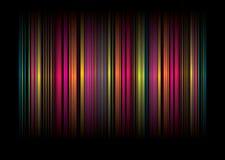 De streep BG van de regenboog Royalty-vrije Stock Foto