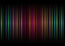 De streep van de regenboog vert Stock Fotografie