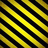 De streepachtergrond van de waarschuwing Stock Afbeeldingen