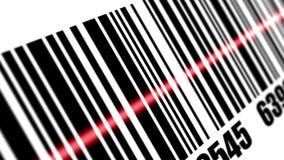 De streepjescode van het scanneraftasten