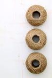 De streng van het linnen Stock Foto's