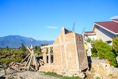 De Strengste Schade in Centrale Sulawesi stock afbeelding