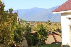 De Strengste Schade in Centrale Sulawesi stock foto's