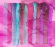 De strepen abstracte achtergrond van de verf Vector Illustratie