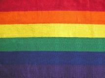 De Strepen van de regenboog stock foto