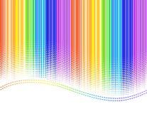 De strepen van de regenboog Stock Foto's