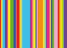 De strepen van de regenboog vector illustratie
