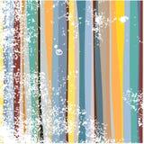 De strepen van Grunge Stock Afbeelding