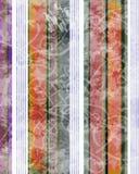 De strepen van Grunge Stock Foto's