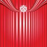 De strepen van Kerstmis Stock Afbeeldingen