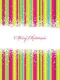 De strepen van Kerstmis Royalty-vrije Stock Foto
