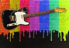 De strijder van de regenboog Stock Foto's