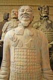 De Strijder van het terracotta royalty-vrije stock fotografie