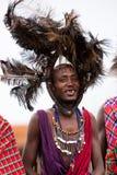 De Strijder van Maasai Stock Afbeeldingen