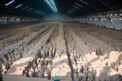 De strijders van het terracotta Stock Afbeelding