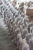 De Strijders van het terracotta Stock Fotografie