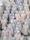 De Strijders van het terracotta Stock Foto's