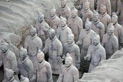 De strijders van het terracotta, China Stock Foto