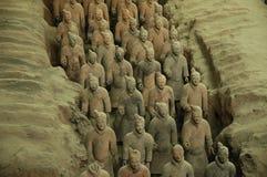 De Strijders van het terracotta, Xi'an Royalty-vrije Stock Fotografie
