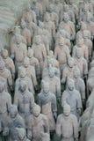 De strijders Xian van het terracotta Royalty-vrije Stock Foto's
