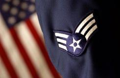 De strijdkrachten van de Verenigde Staten van Amerika Stock Foto