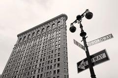 De strijkijzerbouw, New York Stock Afbeelding