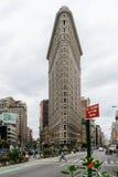 De strijkijzerbouw in Uit het stadscentrum Manhattan Royalty-vrije Stock Afbeelding