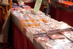 De Strippagina en Spelen 2010 van Luca Stock Foto's