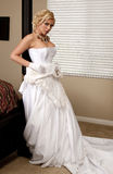 De Striptease van de bruid Royalty-vrije Stock Foto's