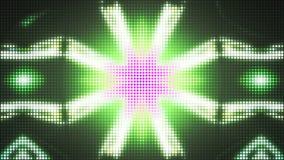 De stroboscoop steekt het Opvlammende 3D teruggeven van VJ aan Stock Fotografie