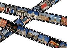 De stroken van de film Royalty-vrije Stock Fotografie