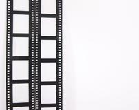 De stroken van de film Stock Foto