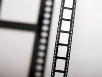 De Stroken van de film bokeh Royalty-vrije Stock Foto