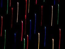 De Stroken van de Kleur van het neon Stock Afbeeldingen