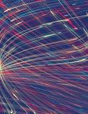 De stroken van de Tthinkleur op een blauwe achtergrond Vector patroon Stock Foto