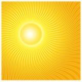 De Stroken van de zon Stock Fotografie