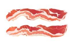 De stroken van het bacon Royalty-vrije Stock Foto