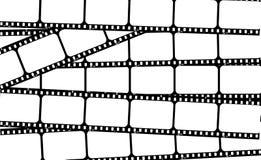 De strokenframes van de film Stock Foto's