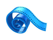 De strook 3d pictogram van de film Stock Fotografie